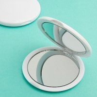 Blank Compact Mirrors - Perfectly Plain Collection