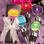 Personalized Wedding Wine Stopper Favors thumbnail