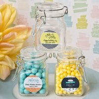 Personalized Birthday Design Apothecary Jar Favors