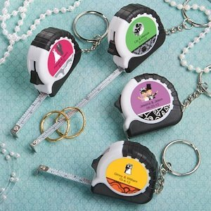 Key Chain and Measuring Tape Favors image