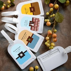 Themed Personalized Luggage Tags image