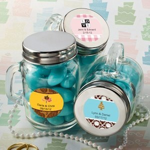Personalized Glass Mason Jars image