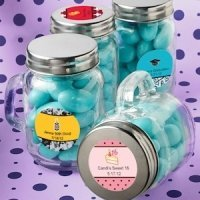 Personalized Celebration Glass Mason Jars