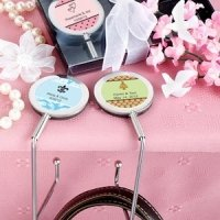 Personalized Purse Hook Wedding Favors
