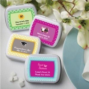 Personalized Any Occasion Favor Mint Tins image