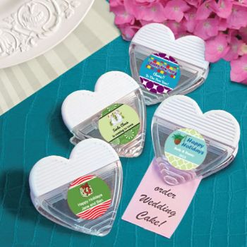 DIY Holiday Design Heart Shaped Memo Clip Favors image