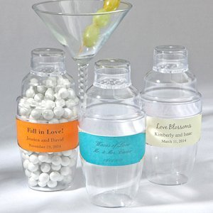 Love Themed Drink Shaker Wedding Favors image