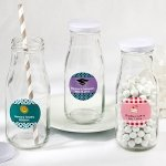 Vintage Style Milk Bottle Favors for Any Occasion
