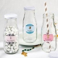 Design Your Own Religious Vintage Style Milk Bottles