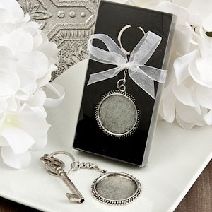 Perfectly Plain Collection Pewter Key Chains image