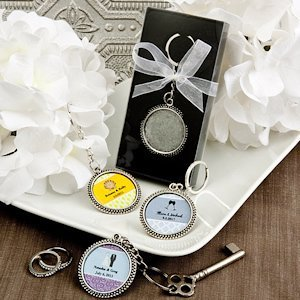 Design Your Own Collection Wedding Favor Keychains image