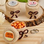 Design Your Own Burlap Party Favor Boxes