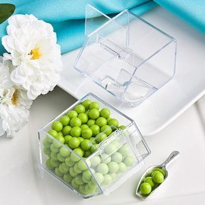 Perfectly Plain Candy Bin & Scoop Favors image