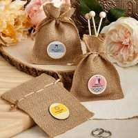Design Your Own Burlap Party Favor Bags