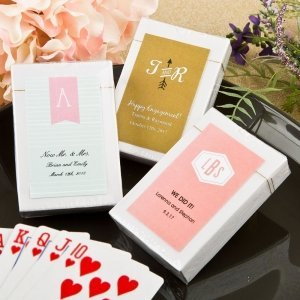 Monogram Collection Playing Card Favors image