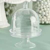 Perfectly Plain Mini Cake Stand Favor