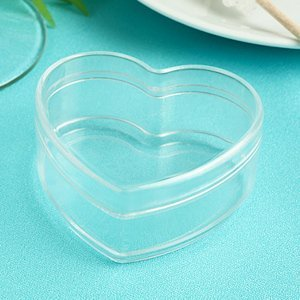 Perfectly Plain Heart Shaped Favor Box image