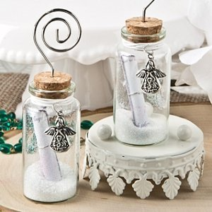 Guardian Angel Wishing Jar Place Card Holders image