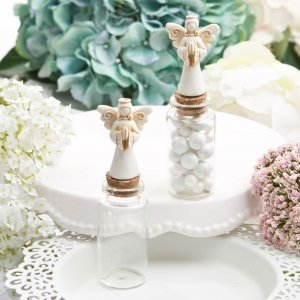 Perfectly Plain Candy Jar with Ivory Guardian Angel image