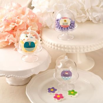 Personalized Celebrations Treats and Cupcake Acrylic Stands image