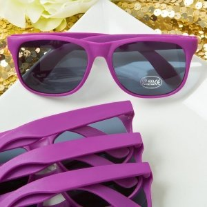 Perfectly Plain Collection Purple Fashion Sunglasses image