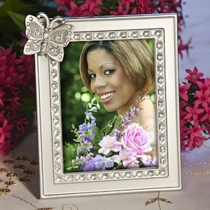 Elegant Butterfly Photo Frame Favors image