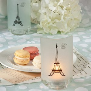 French Eiffel Tower Candle Party Favors image