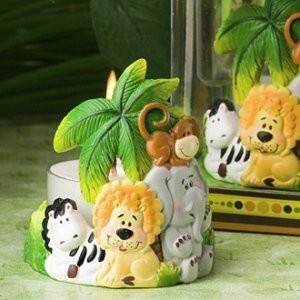 Jungle Critters Candle Favors image