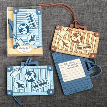 Suitcase Design Luggage Tags (2 Designs) image