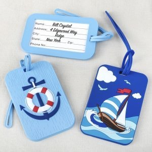 Nautical Luggage Tag Gift Set image