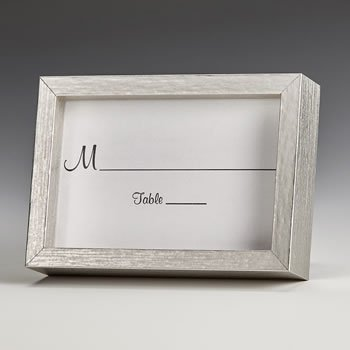 Silver wood 2x3 picture frame image