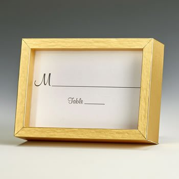 Gold wood 2x3 picture frame image