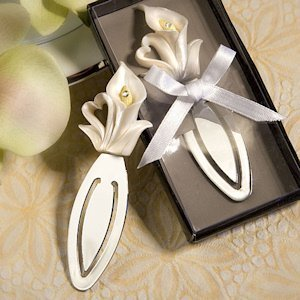 Calla Lily Bookmark Favor image