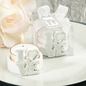 Bling Collection LOVE Candle Holders image