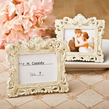 Vintage Baroque Design Place Card Holder Frame image