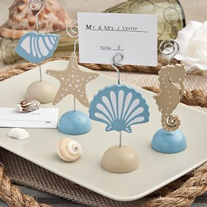Magical Sea Beach Wedding Place Card Holders image