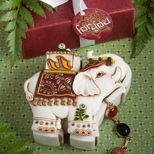 Elephant Design Curio Box Favors image