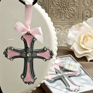 Pink Cross Ornaments image