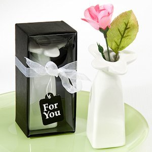 Little Bud Vase Ceramic Favors image