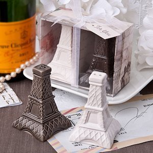 Eiffel Tower Mini Salt & Pepper Shakers image