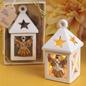 Guardian Angel Lantern With Led Light image