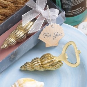 Conch Sea Shell Design Bottle Opener Favors image
