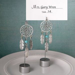Dream Catcher Place Card Holder Favors image