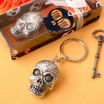 Day of the Dead Sugar Skull Key Chain Favor image