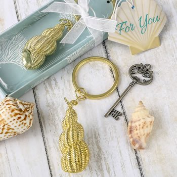 Conch Shell Key Chain Favors image