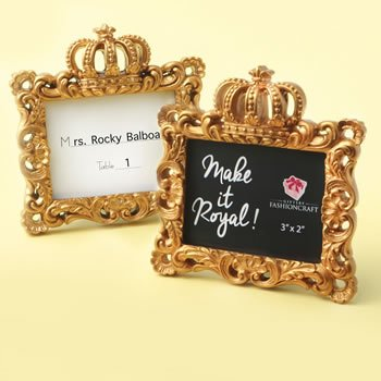 Make it Royal Gold Baroque Crown Frames image