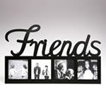 FRIENDS Large Letter Metal Picture Frame