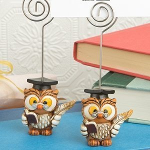 Wise Graduation Owl Place Card Holder image