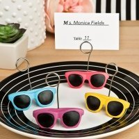 Fun in the Sun Sunglasses Design Placecard Holders