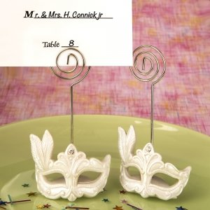 Mardi Gras Masked Theme Placecard Holder image